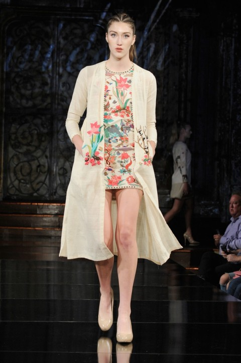 Hand Aari Embroidered Dress And Hand Embroidered Jacket