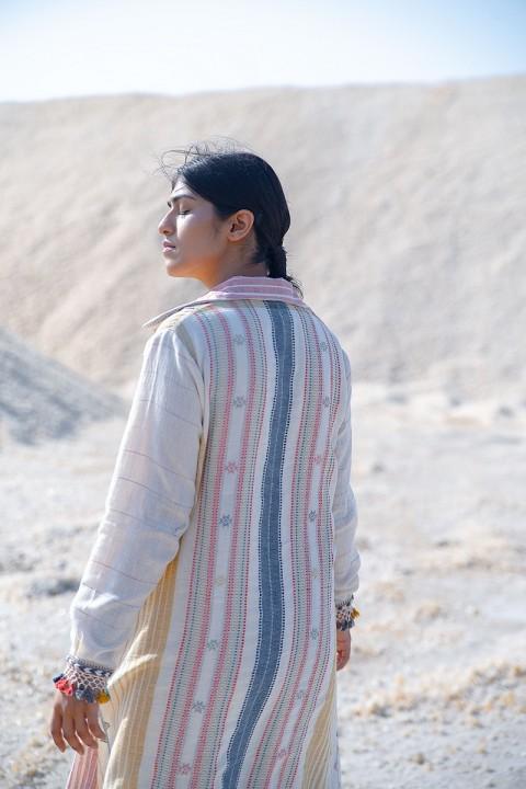 Kala cotton hand woven jacket