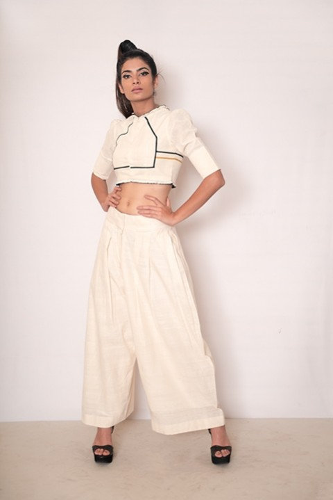 Scooting Around crop top and culotte set